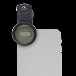 Coral-Lens-macro grey phone