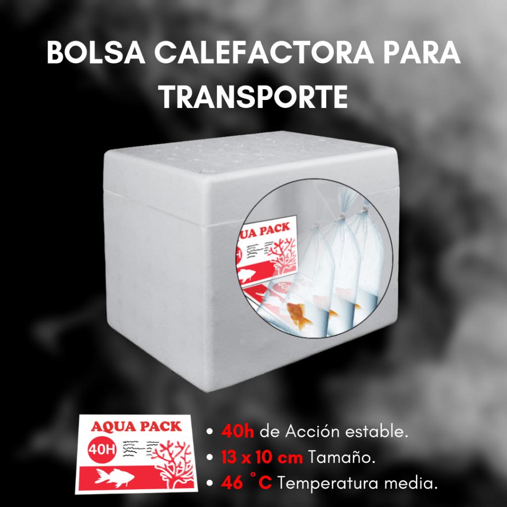 Bolsa calefactora para transporte F