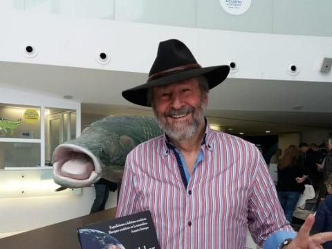 el-biologo-aleman-heiko-bleher-participa-en-unas-jornadas-en-el-acuario-de-zaragoza