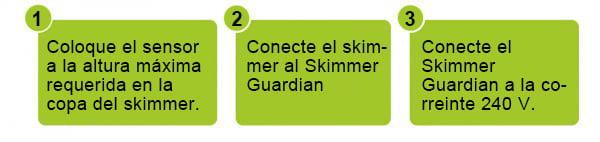 Skimmer Guardian installation 2